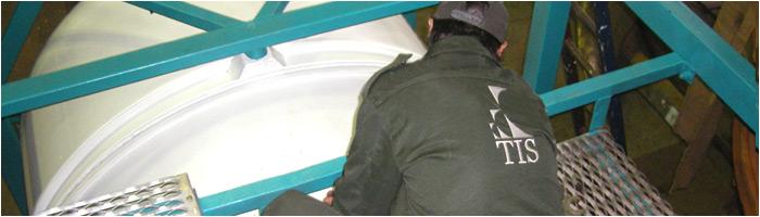 Tank container repairs